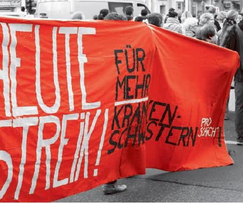 Streikkonferenz: Her mit dem besseren Leben
