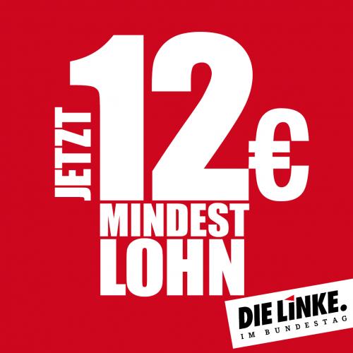 LINKE fordert Erhöhung des Mindestlohns auf 12 Euro