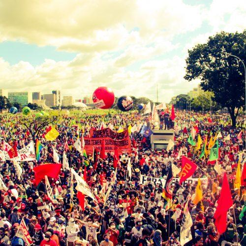 Solidarität der LINKEN mit dem Generalstreik in Brasilien