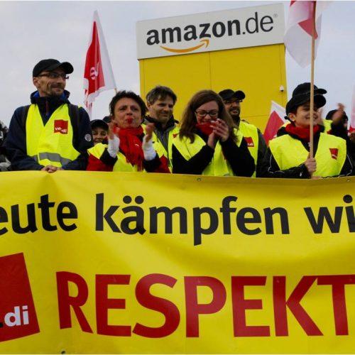 Amazon schikaniert Beschäftigte und kassiert dafür Millionen vom Staat